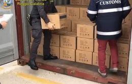 Italy thu giữ lượng lớn ma túy của IS