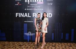 Mâu Thủy, Ngọc Châu nổi bật trong buổi chấm thi Top Model Online 2017