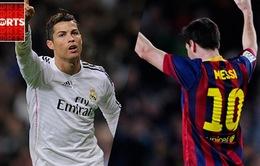 Lịch trực tiếp vòng 25 La Liga: Real Madrid, Barcelona quyết thắng đậm