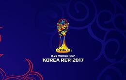 Lịch TRỰC TIẾP giải FIFA U20 Thế giới 2017 trên VTV