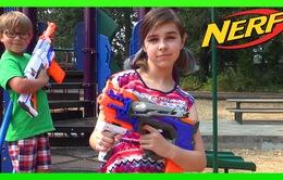 Tổn thương mắt nghiêm trọng vì súng đồ chơi Nerf