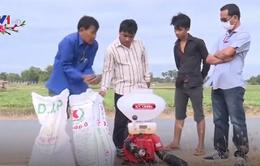 Campuchia đưa máy móc vào sản xuất nông nghiệp