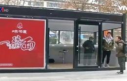 Máy bán mì tự động hút khách ở Trung Quốc