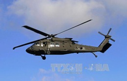Trực thăng huấn luyện của Mỹ gặp nạn, 1 quân nhân mất tích