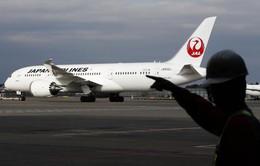 Máy bay của hãng Japan Airlines hạ cánh khẩn cấp