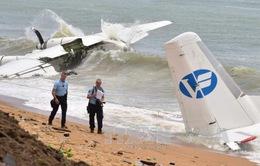 Máy bay rơi tại Cote d'Ivoire, 4 người thiệt mạng