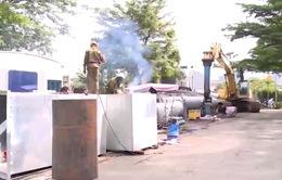 TP.HCM lùi thời gian vận hành siêu máy bơm chống ngập
