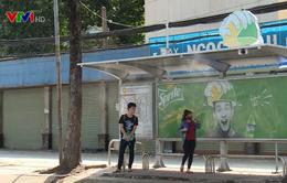 TP.HCM lắp máy phun sương làm mát nhà chờ xe bus