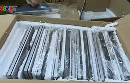 Thu giữ hơn 100 máy tính xách tay không rõ nguồn gốc