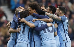 Tứ kết FA Cup: Middlesbrough 0 - 2 Man City, Pep Guardiola trở lại Wembley