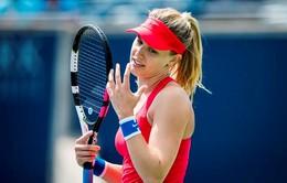 Rogers Cup 2017: Eugenie Bouchard sớm chia tay giải đấu