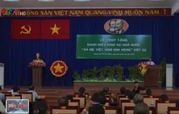Tổ chức lễ truy tặng danh hiệu Bà mẹ Việt Nam anh hùng