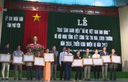 Phú Yên trao, truy tặng danh hiệu Bà mẹ Việt Nam anh hùng