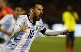 Messi lập hat-trick đưa Argentina tới World Cup 2018