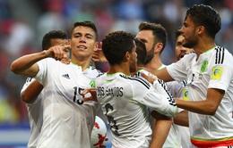 Cúp Liên đoàn các châu lục 2017: Lơ là phòng ngự ĐT Bồ Đào Nha để ĐT Mexico cầm hòa đáng tiếc