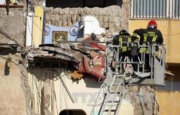 Sập chung cư ở Italy, 8 người mất tích