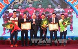 Trao thưởng vận động viên, huấn luyện viên tiêu biểu xuất sắc toàn quốc