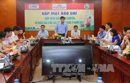 Việt Nam đăng cai Giải bóng chuyền vô địch các câu lạc bộ nam châu Á năm 2017