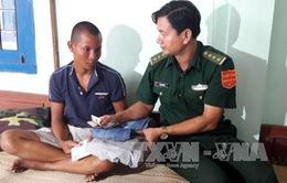 Quảng Ngãi: Cứu sống ngư dân Kiên Giang trôi dạt trên biển