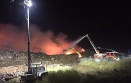 Cháy nhà máy tái chế tại Australia