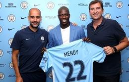 Man City biến Mendy thành hậu vệ đắt giá nhất lịch sử