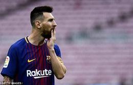 Messi nằm ngoài top ghi bàn ở Champions League