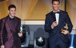 """C.Ronaldo xuất sắc nhất thế giới, nhưng Messi """"đỉnh"""" hơn"""