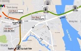 Sẽ kéo dài tuyến metro từ TP.HCM về Bình Dương, Đồng Nai