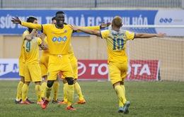 VIDEO: Tổng hợp trận đấu Sông Lam Nghệ An 0-1 FLC Thanh Hóa