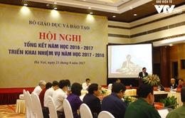 Bộ GD&ĐT tổng kết năm học 2016-2017, triển khai nhiệm vụ năm học 2017-2018