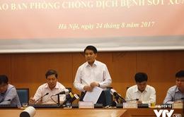 Chất lượng thuốc phun muỗi sốt xuất huyết ở Hà Nội liệu có đảm bảo?