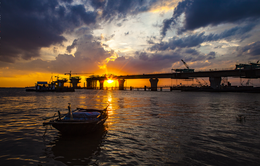 Ngày 14/5, thông xe kỹ thuật cầu vượt biển Tân Vũ - Lạch Huyện