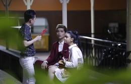 Trương Quỳnh Anh hộ tống chồng tham gia Bước nhảy ngàn cân