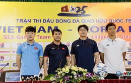 """HLV Hữu Thắng: """"U22 Việt Nam sẽ thi đấu đẹp mắt, cống hiến trước Tuyển các ngôi sao K-League"""""""