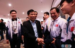 Bộ trưởng Bộ VHTT&DL Nguyễn Ngọc Thiện gửi lời động viên của Thủ tướng tới các VĐV dự SEA Games 29