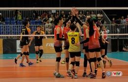 ĐT bóng chuyền nữ Việt Nam giành thắng lợi thuyết phục trận ra quân tại SEA Games 29