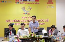 VIDEO: Toàn cảnh buổi họp báo Giải bóng chuyền nữ Quốc tế VTV Cup Tôn Hoa Sen 2017