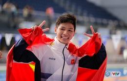 Kình ngư 15 tuổi Nguyễn Hữu Kim Sơn bất ngờ giành Vàng, phá kỷ lục SEA Games