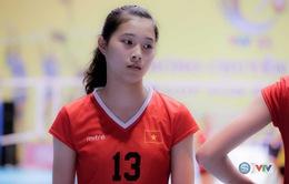 Vẻ đẹp gây sốt của chân dài 15 tuổi ở Giải bóng chuyền nữ Quốc tế VTV Cup Tôn Hoa Sen 2017