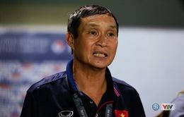 """HLV Mai Đức Chung: """"Thắng Myanmar, toàn đội đã thi đấu với tinh thần phụ nữ Việt Nam"""""""