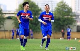 U22 Việt Nam: Văn Toàn, Đức Huy trở lại ngay trước trận giao hữu với U20 Argentina