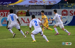 Ảnh: FLC Thanh Hoá đứt mạch trận bất bại tại Giải VĐQG V.League 2017 trên sân Hàng Đẫy