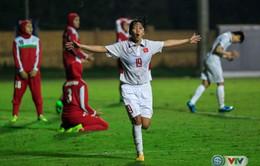 VIDEO: Xem lại diễn biến trận đấu ĐT nữ Việt Nam 6-1 ĐT nữ Iran