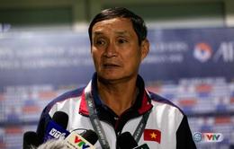 """HLV Mai Đức Chung: """"Loại cầu thủ chỉ vì một sai lầm thì là lỗi lớn"""""""