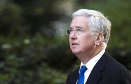 Bộ trưởng Bộ Quốc phòng Anh Michael Fallon đột ngột từ chức