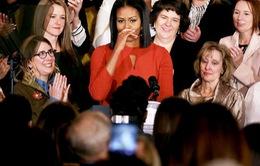 Thông điệp ý nghĩa trong bài phát biểu cuối cùng của bà Michelle Obama