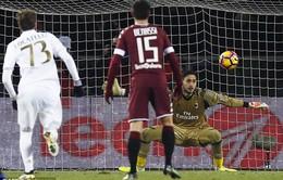 Vòng 20 giải VĐQG Italia: Belotti tỏa sáng, AC Milan rời top 4