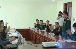 Tập huấn phòng tránh bom, mìn cho các sĩ quan Việt Nam