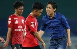 V.League 2017: HLV Minh Phương và chặng đường đầy khó khăn cùng CLB Long An