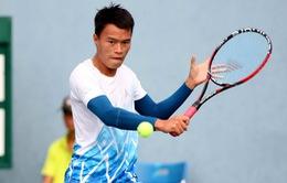 Minh Tuấn thất bại tại vòng 1 giải quần vợt Việt Nam mở rộng 2017